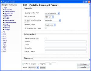 convertire da pdf a png, tiff, txt